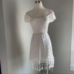 Dainty white dress